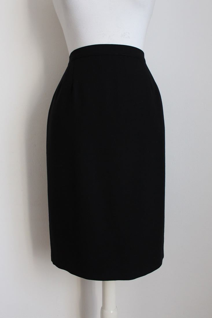 MANI BY GIORGIO ARMANI BLACK SKIRT - SIZE 10