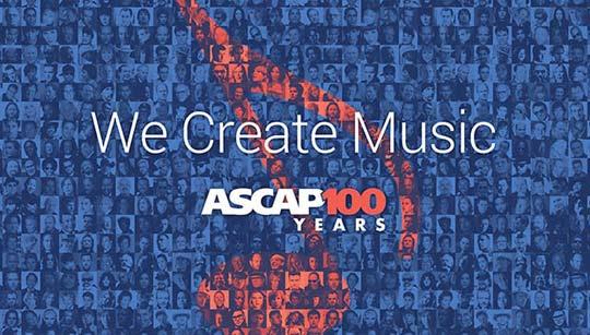 ASCAP top 100 songs