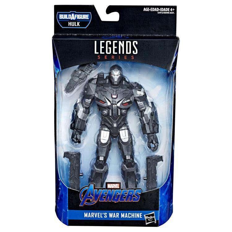 Image of Avengers: Endgame Marvel Legends War Machine (Hulk BAF) - Wave 2