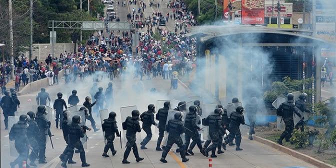 Honduras:Crece la cifra de personas asesinadas en las manifestaciones