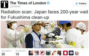 200 yrs - Japon tardara 200 años en solucionar el problema de Fukushima