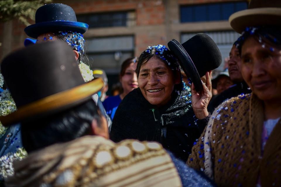 Festajo en El Alto.