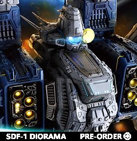 ROBOTECH SDF-1 DIORAMA DIGITAL SOUND SYSTEM