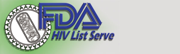 HIV Email List Serve Logo