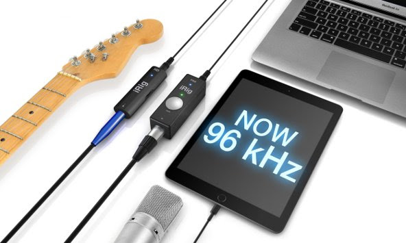 96kHz firmware update for iRig PRO and iRig HD