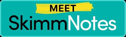 Meet Skimm Notes