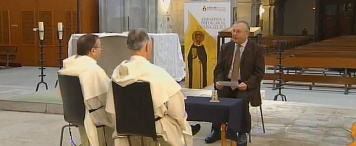 Entrevista en televisión gallega