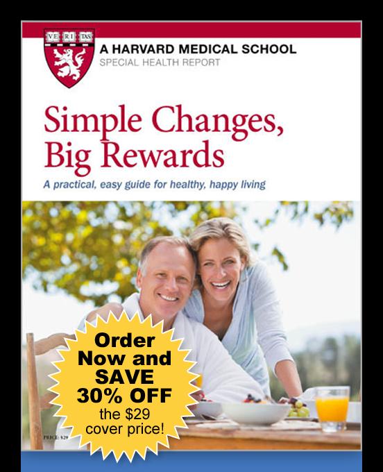 Simple Changes, Big Rewards