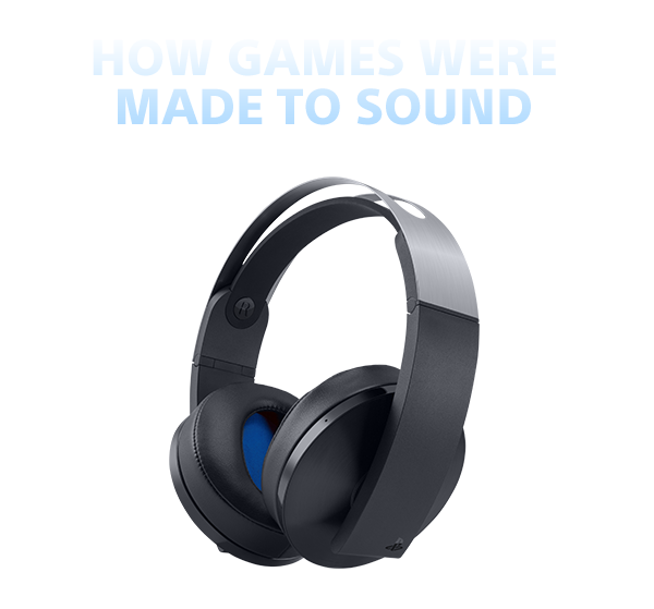 HOW GAMES WERE MADE TO SOUND
