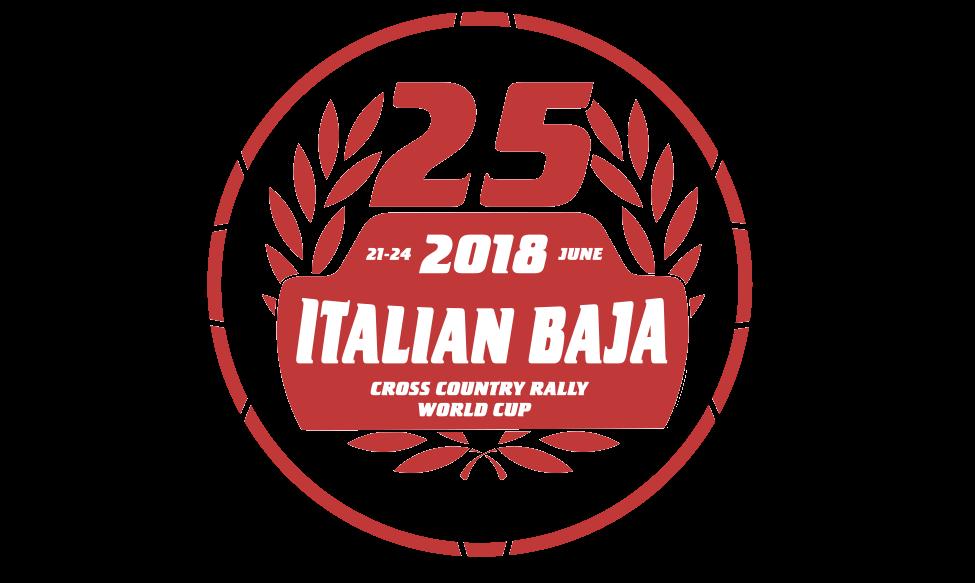 25th Italian Baja logo