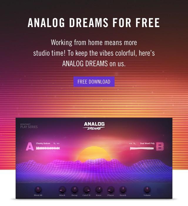 ANALOG DREAMS free giveaway