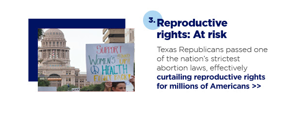 3. Reproductive rights: At risk