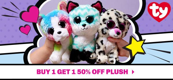 Buy 1 Get 1 50% OFF Plush