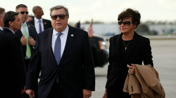 Ông bà Knavs, bố mẹ đẻ của Đệ nhất phu nhân Mỹ Melania Trump (Ảnh: Reuters)