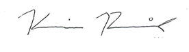 Kevin Reich Signature