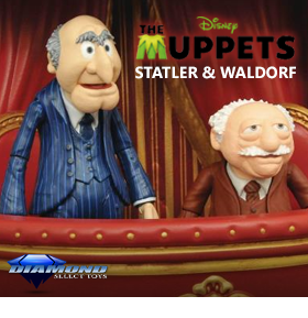 THE MUPPETS SELECT STARTLER & WALDORF