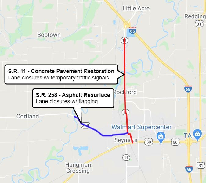 SR 258/SR 11 Jackson County