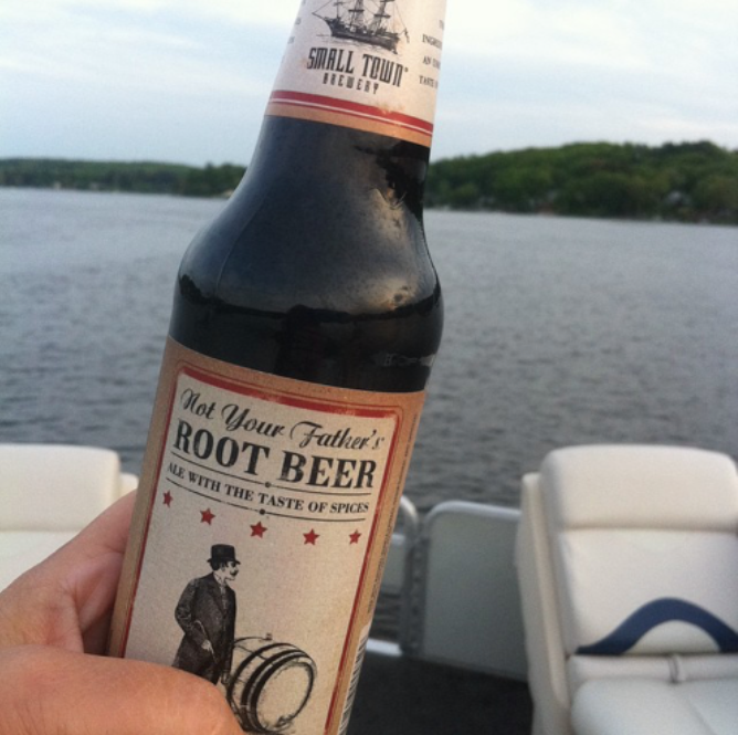 Find Not Your Father's Root Beer at Cap n' Cork.