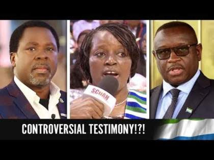 VIDEO: TB Joshua fires back over controversial Sierra Leone testimony