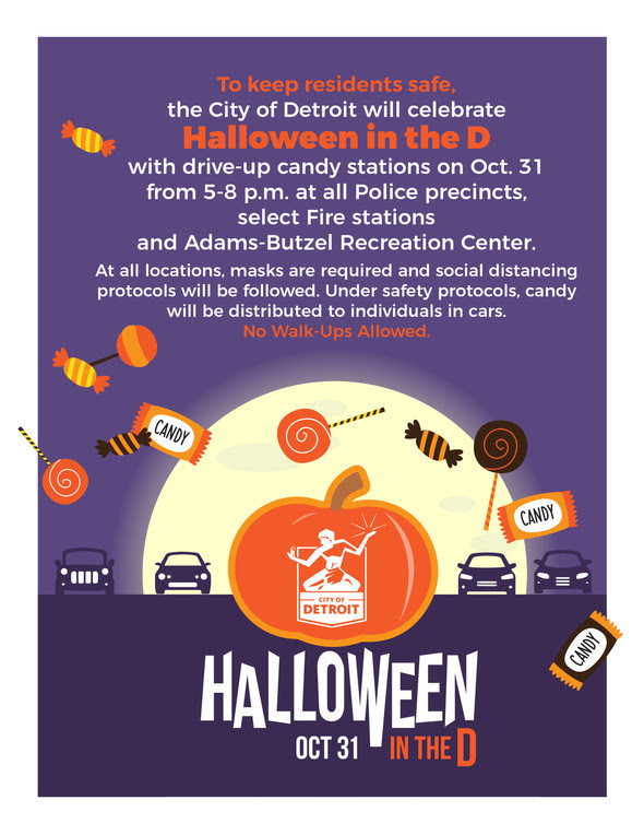 Halloween in the D Flyer