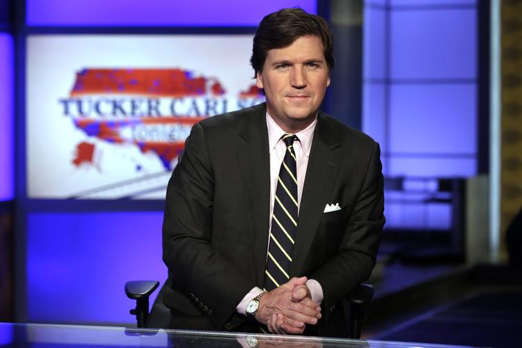"Tucker Carlson, host of ""Tucker Carlson Tonight,"" on Fox. (AP Photo/Richard Drew, File)"