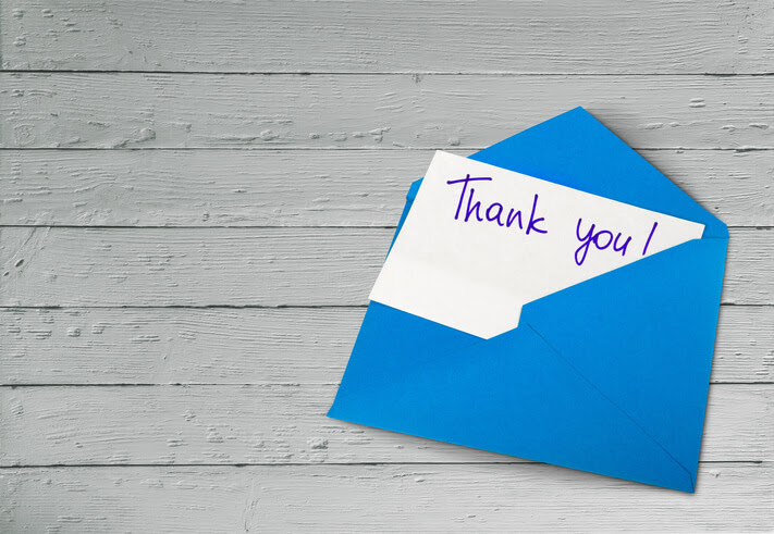 Random Acts of Kindness Thank You Card
