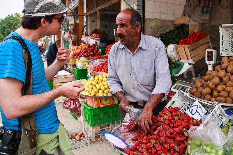 Клубника в Иране
