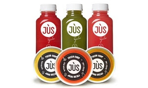 Up to 56% Off Soup/Juice Cleanse from Jus By Julie