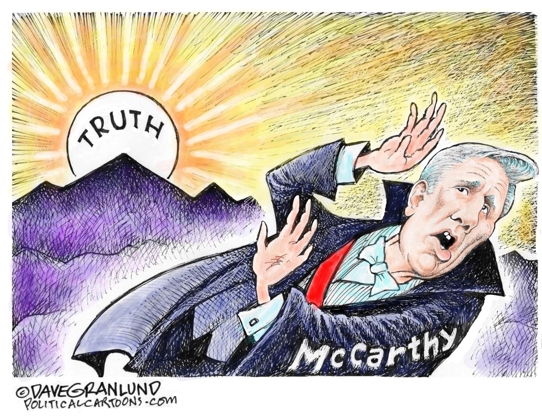 Kevin McCarthy vs. Truth