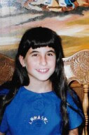 A childhood photo of Alyson Klein, just before the start of 6th grade.