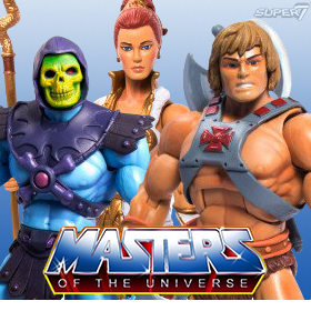 SUPER 7 MASTERS OF THE UNIVERSE FIGURES