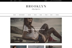 Wordpress Theme Brooklyn Responsive