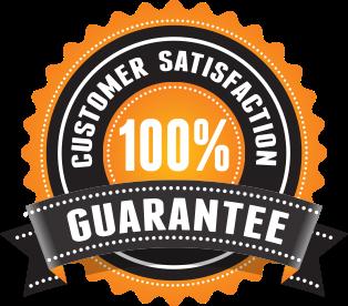 Αποτέλεσμα εικόνας για 100% customer satisfaction guarantee orange