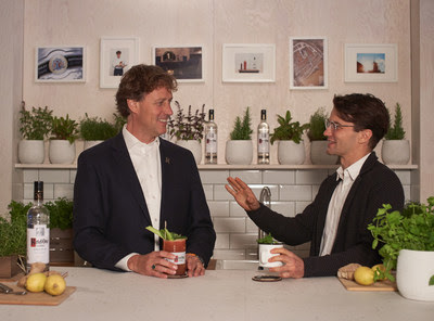 Bob Nolet, the 11th generation of the Nolet family, talks to Johann Bödecker, co-founder and CEO of Pentatonic, who helped co-create the Ketel One Vodka sustainable bar.