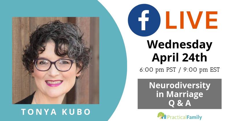 tonya kubo facebook live neurodiversity