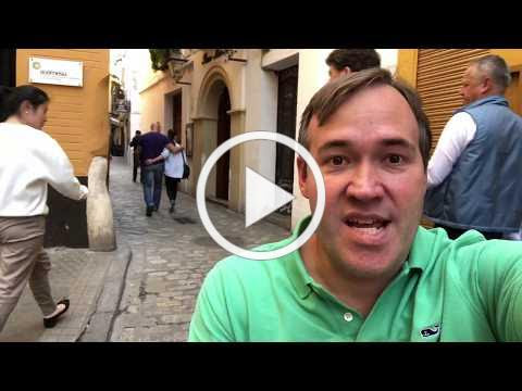 Wheelchair Access Review of Sevilla Spain by John Sage