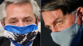 Sob Bolsonaro e Fernandez, Brasil e Argentina vivem maior afastamento em 35 anos