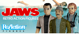 JAWS REACTION RETRO ACTION FIGURES