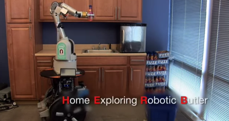 Home Exploring Robotic Butler - HERB