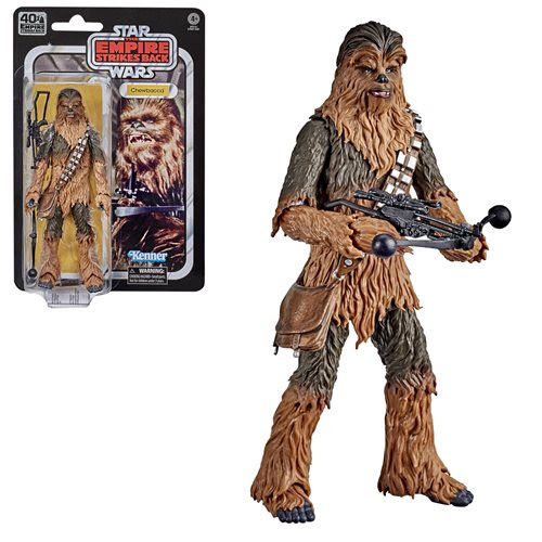 Image of Star Wars The Black Series Empire Strikes Back 40th Anniversary 6-Inch Chewbacca Action Figure