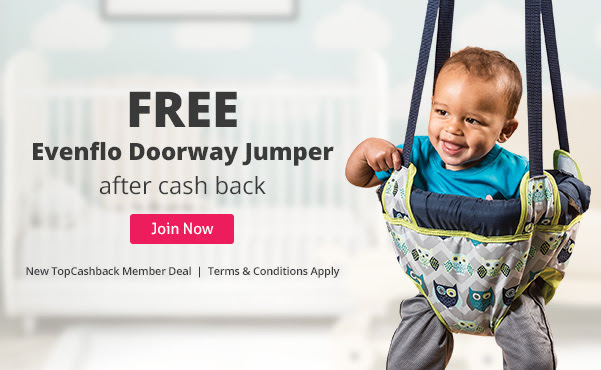 FREE Evenflo Doorway Jumper at...