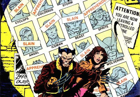 x-men dias de um futuro esquecido hq quadrinhos