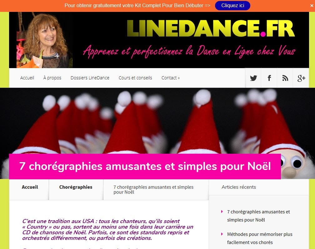 Blog Linedance.fr