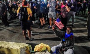 Protestas por todo Estados Unidos. / EFE/EPA/TANNEN MAURY