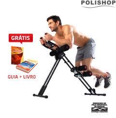 APARELHO DE GINÁSTICA 5 MINUTES SHAPER POLISHOP + GUIA + LIVRO