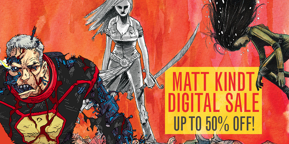 Matt Kindt Sale