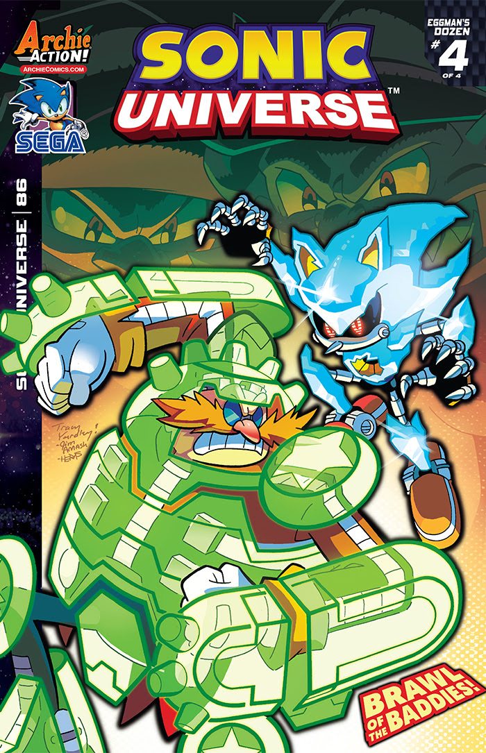Sonic Universe #86 Cover by Tracy Yardley