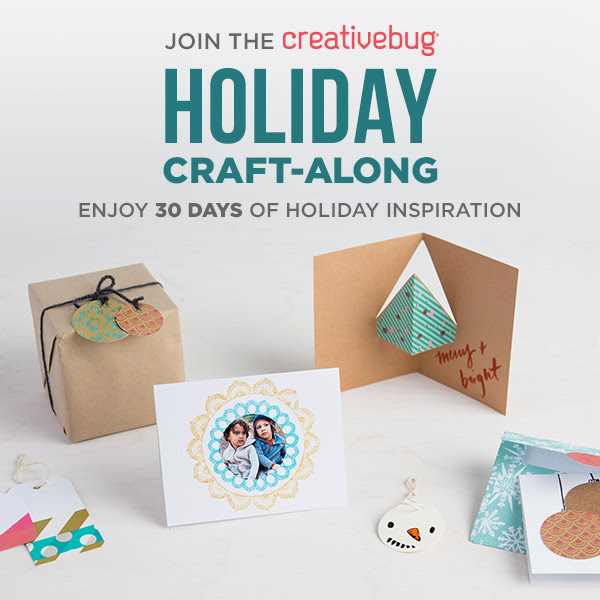 Join Creativebug For 30 Days o...
