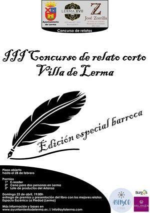 III Concurso de Relato Corto Villa de Lerma