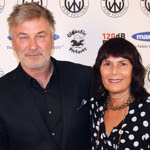 Alec Baldwin and Meira Blaustein